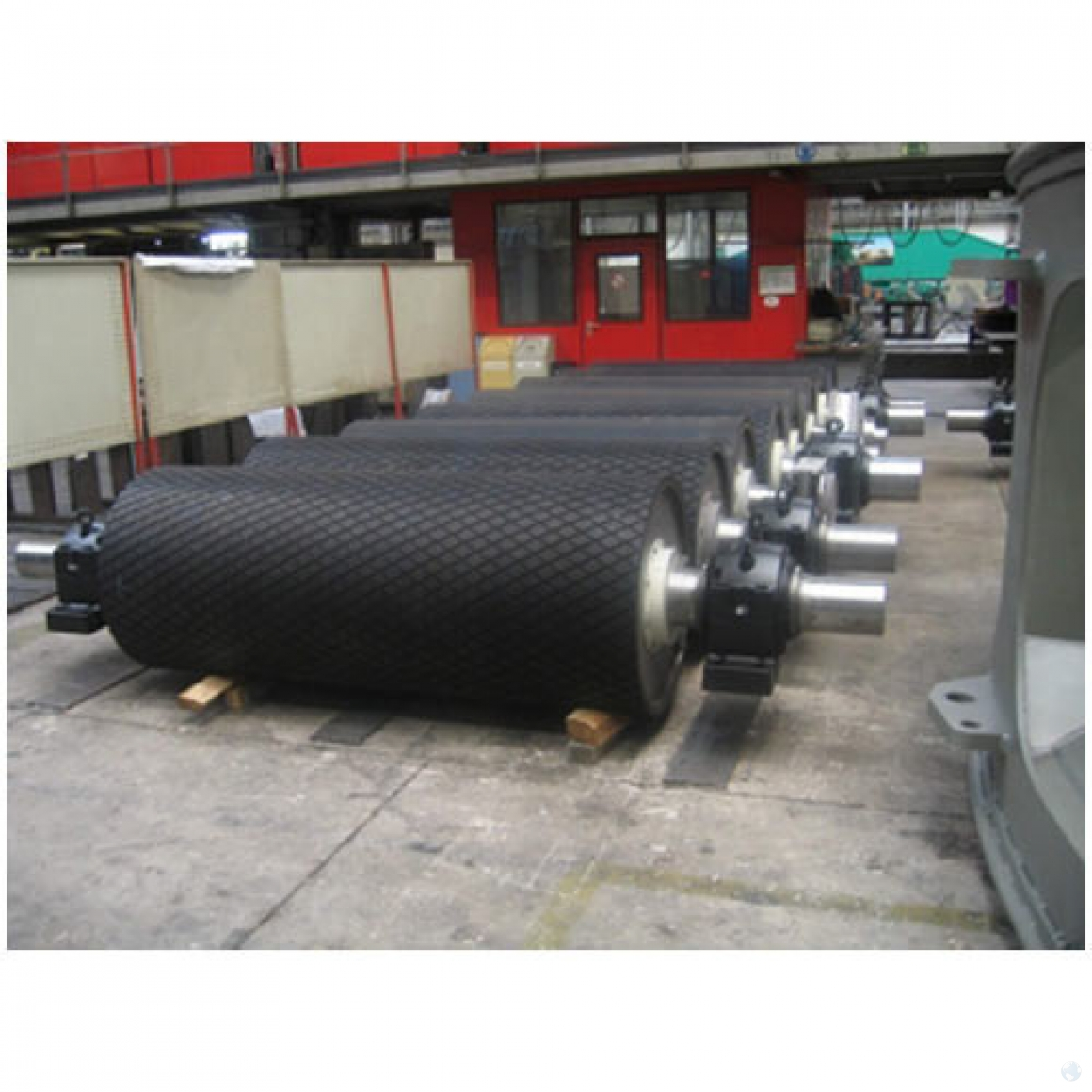 conveyor-pullys-hot-volganizing