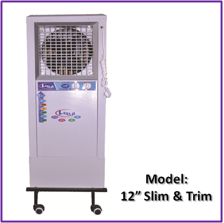 Tower Cooler  12 inches Slim & Trim Model