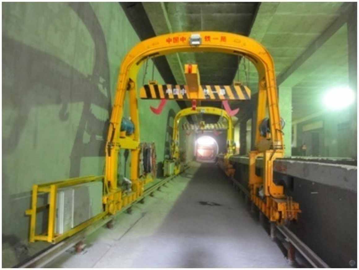 Tunnel Lining Gantry