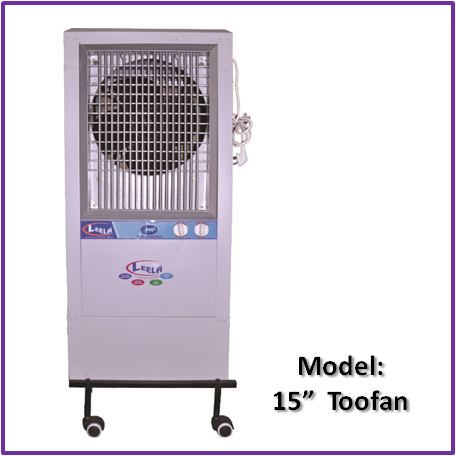 Tower Cooler-15 inches Toofan  Model