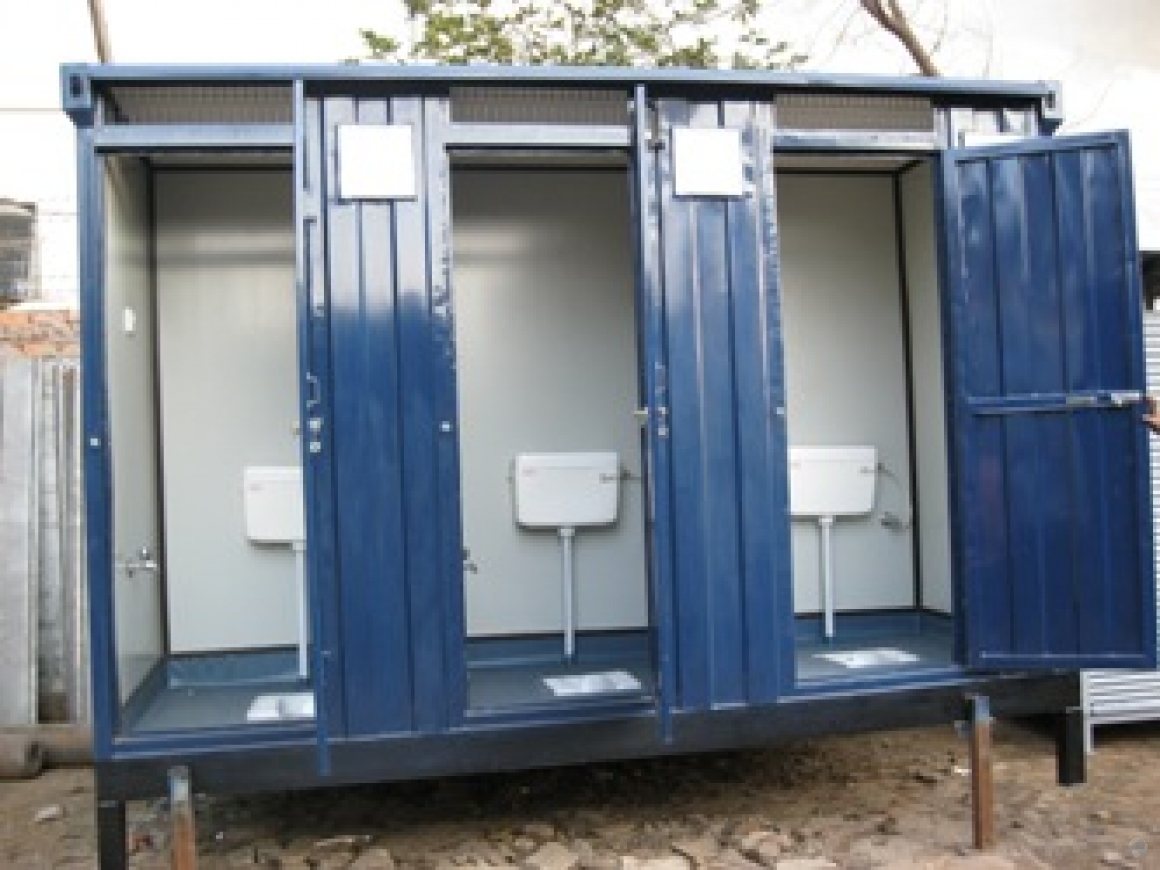 prefabricated toilet cabins