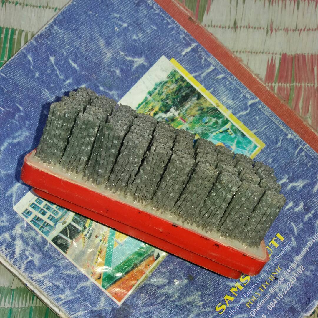 granite stone polishing brushes
