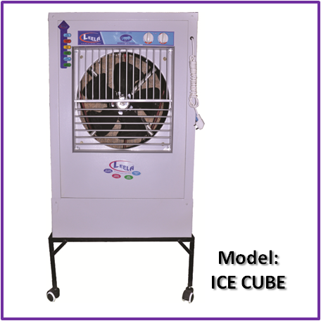 Room Cooler-Ice Cube Model