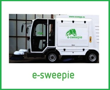 E-Sweepie cleaning machine