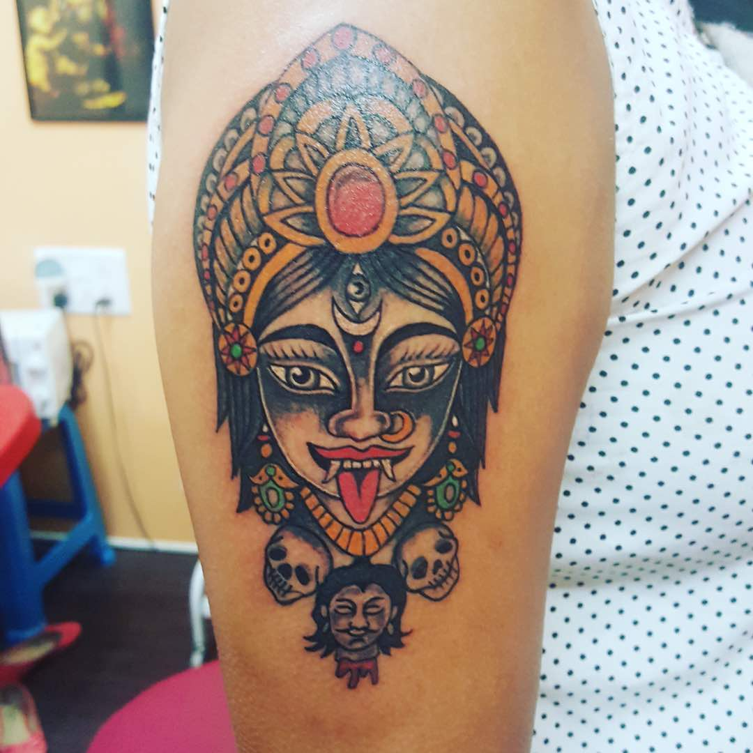 Multi colour Tattoo