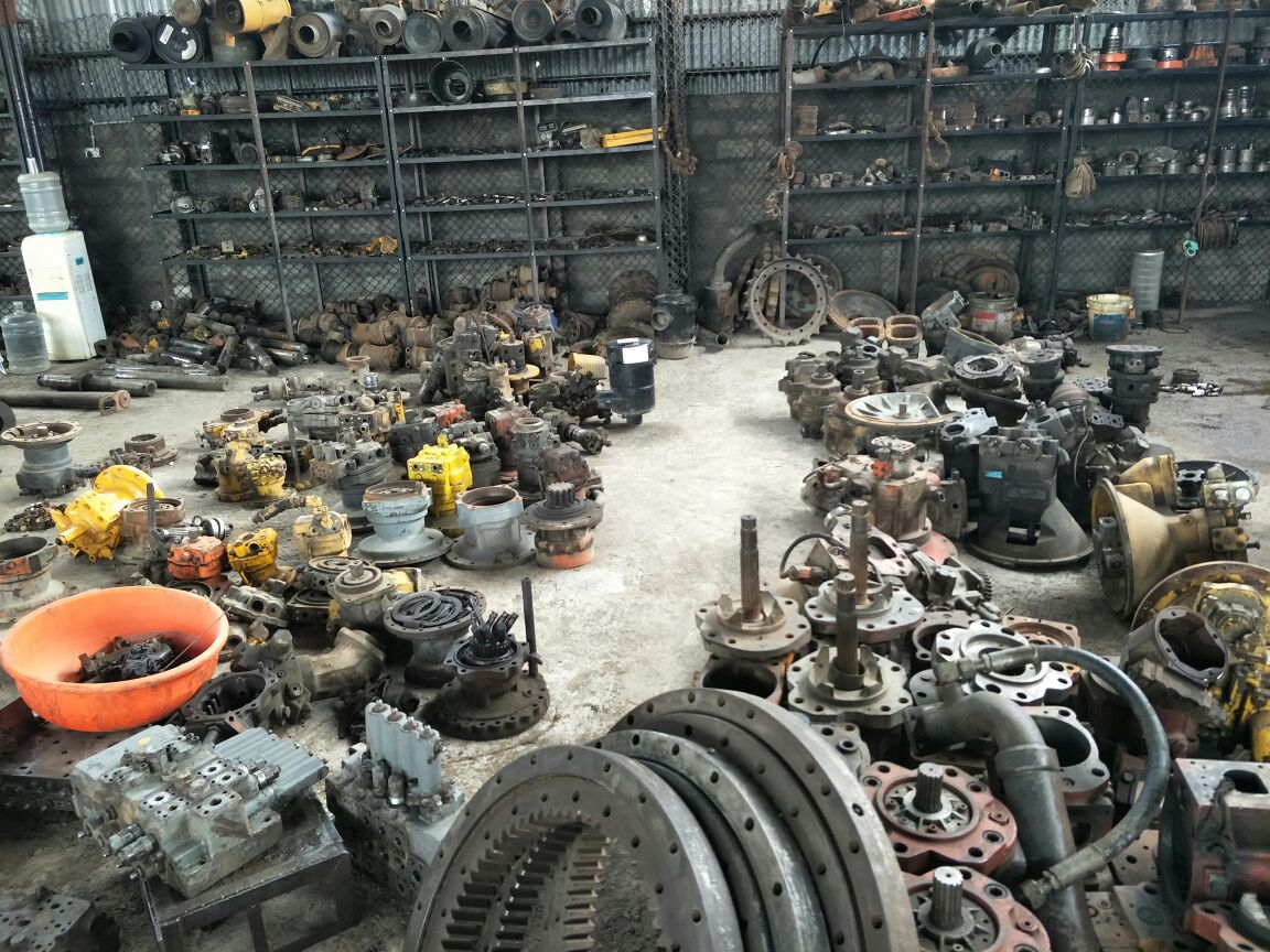 Refurbished earth moving  & spare parts