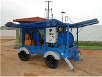 cable pulling machine - electrically operated