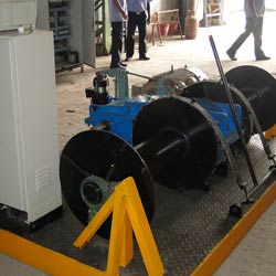 motorized mechanical winches