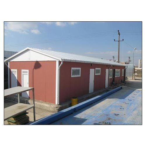 prefabricated office site