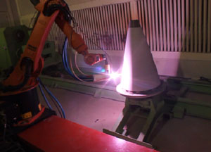 Plasma Spray process