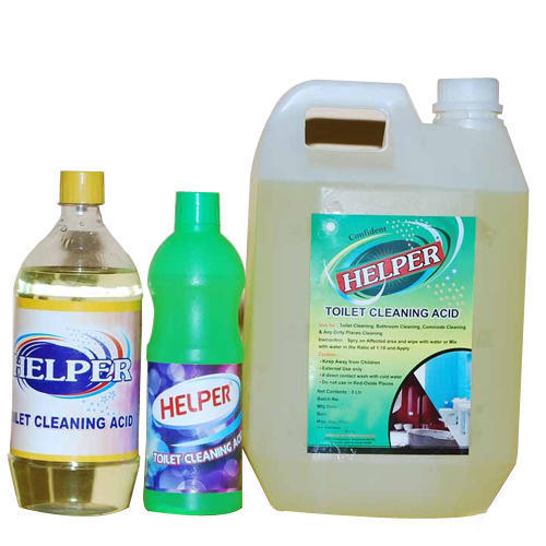 Toilet cleaning acids